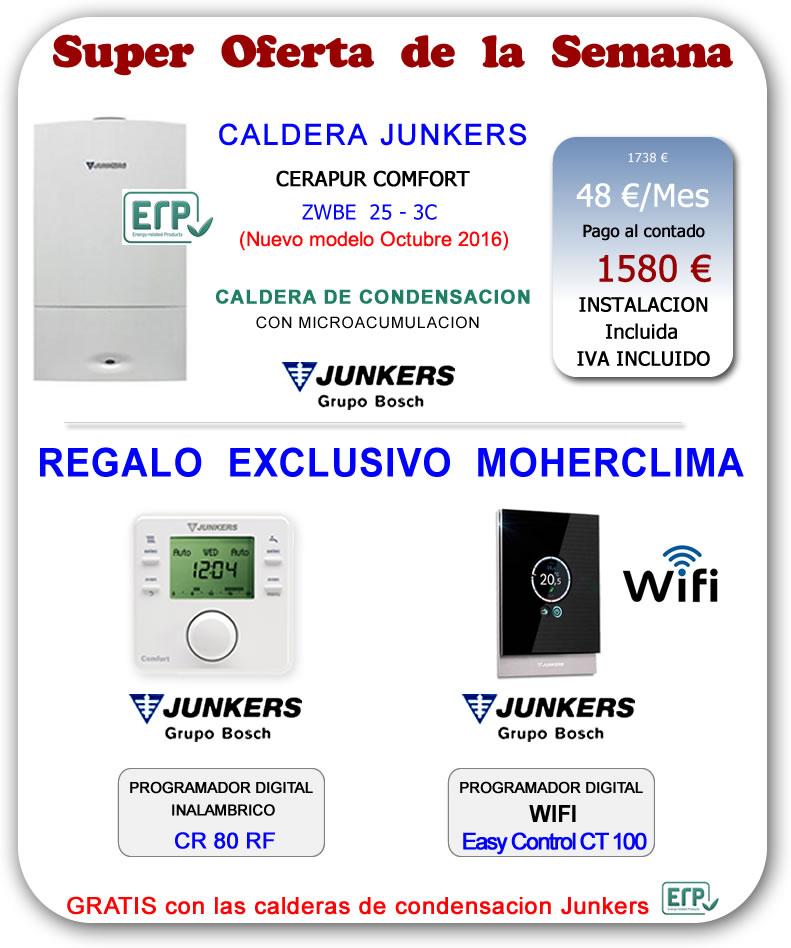 Calderas de gas precios calderas gas junkers el mejor - Precio caldera gas ...